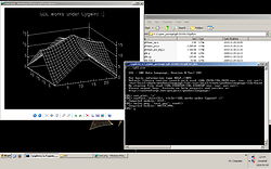 GDL writing a surface plot to a PNG file under Cygwin on Windows